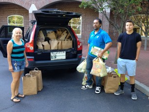 Food Drive Pick Up July 2016