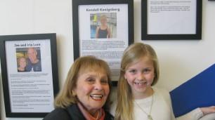 Kendall Konigsberg and her grandma