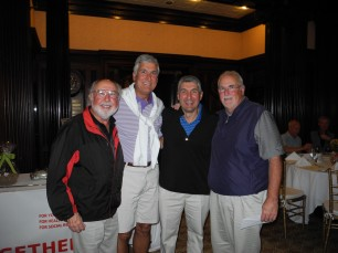 Joe DeVita, Keith Meyers, Thomas DeVita and Red Phohl
