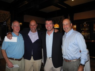 John Tartaglia, Steve Mongillo, BJ Thompson and  Ben Koenig