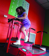 Jump Q: Designed to provide an incredible lower body workout, it also increases a users' reaction time.