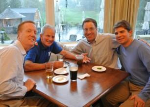 (left to right) Brad Smith, Bruce MacLeod, Donald Dowd and Brett MacLeod