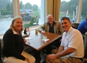 Pat and Jack Geoghegan and Larry Dix